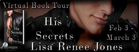 His Secrets Banner 450 x 169
