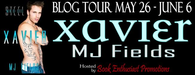 xavier Blog Tour Banner